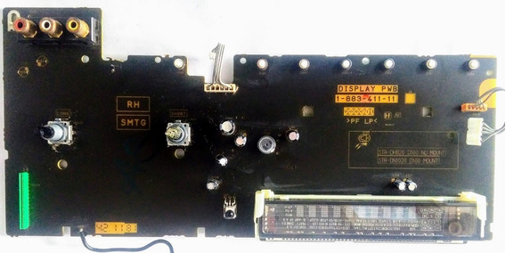 Painel Display Receiver Sony Str Dh820