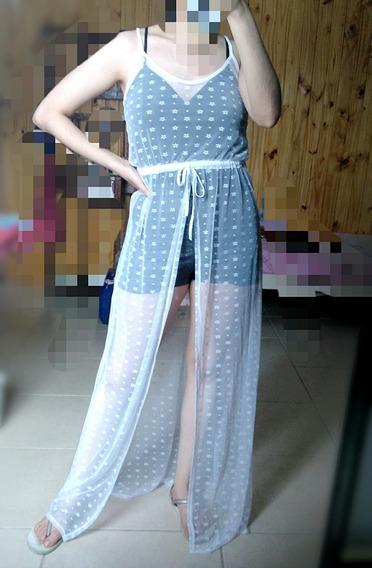 Vestido Largo De Tull