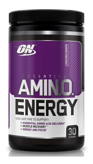 Amino Energy On 30 Serv 270g Concord Grape