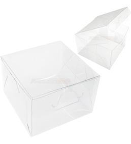 50 Caixas De Acetato 10x10x10 Cm Caxinhas Para Embalagens