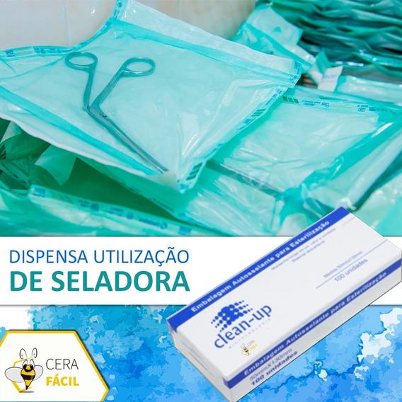 Envelope Autosselante 9x26cm 200un Clean Up - Pincel