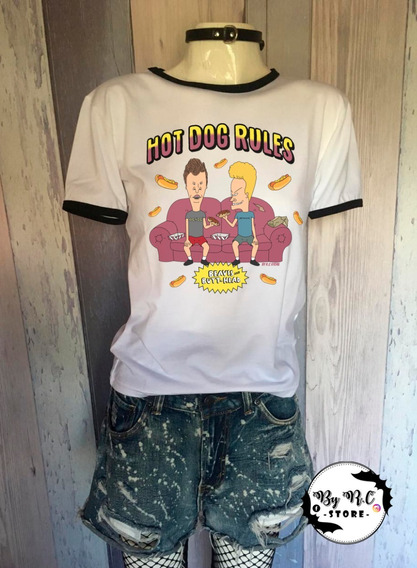 Remera Dama Beavis And Butthead By R.c
