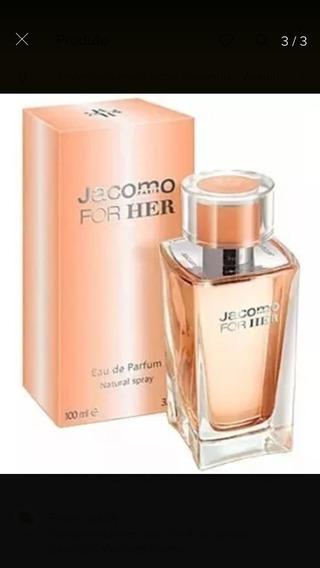 Perfume Jacomo For Her Eu De Parfum 100ml Original Paris