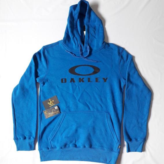 Moletom Oakley Dual Pullover Azul Masculino Original