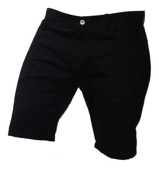 Shorts Bermudas Gabardina Talle 42 Al 56 - Jeans710