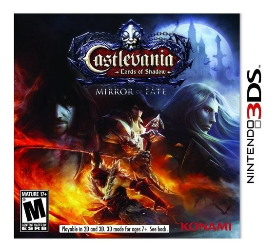 Jogo Castlevania Lords Of Shadow Mirror Of Fate 3ds