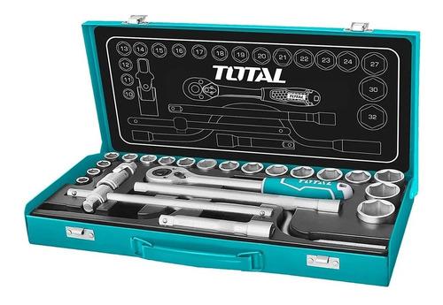 Juego Set Kit Herramientas Tubos De 24 Pcs Industrial Total