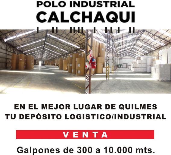 Galpones A Medida Desde 300 Mts. En Polo Industrial Quilmes