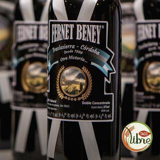 Fernet Apto Para Celiacos Beney Sin T.a.c.c. 750cc + Envio