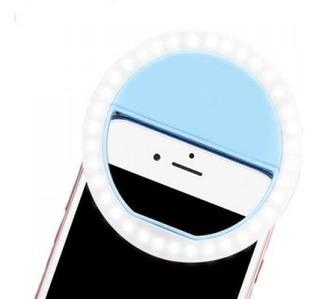Luz De Selfie Ring Light Clipe Anel Led Flash Usb Celular
