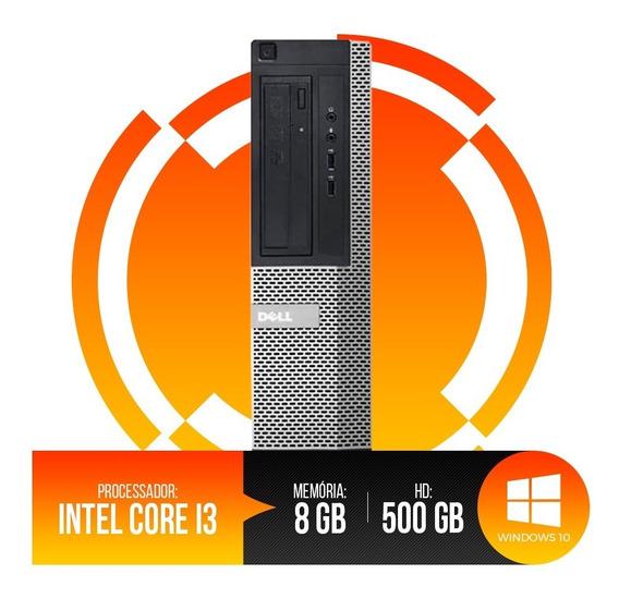 Pc Dell Optiplex Core I3, 8gb Ram Ddr3, Hd 500gb, Oferta.