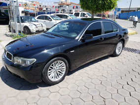 Bmw Serie 7 750i 2004 Negro
