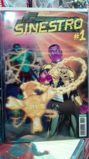 Dc Cómics Lenticular Incluye Sinestro,mongul,relic Y Black H
