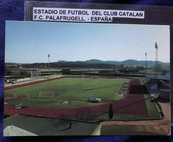 Postal Estadio De Fútbol Club Catalan F C Palafrugell España