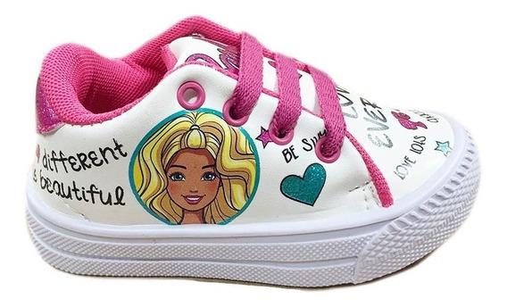 Zapatilla Barbie Originales Eco Cuero