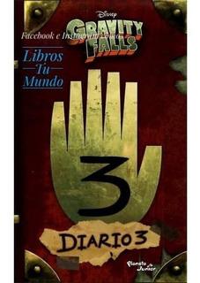 Gravity Falls Diario 3 Pasta Blanda Español