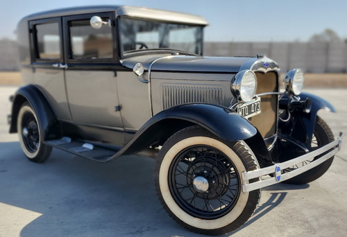 Ford A Fordor 1930 Coleccion Impecable!