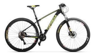 Bicicleta Top Mega Marathon 29 Full Deore + Casco + Linga