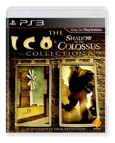 Ico E Shadow Of The Colossus Collection Ps3 Mídia Física