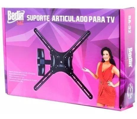 Suporte Articulado Tv Led/lcd Até 60 Pol Bedin Sat