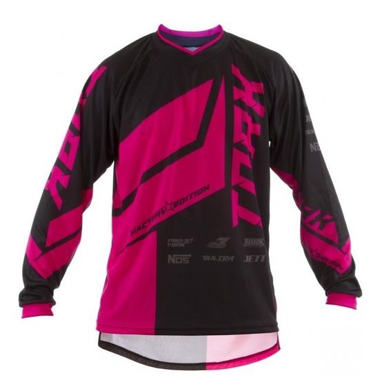 Remera Motocross Factory Edition Pro Tork Infantil Sportbay