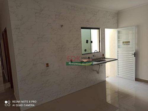 Imagem 1 de 12 de Casa Com 3 Dormitórios À Venda, 72 M² Por R$ 223.000 - Chácara Belo Horizonte - Taubaté/sp - Ca6243