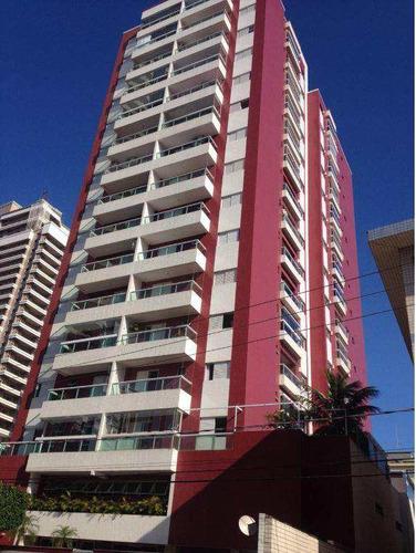 Apartamento Com 3 Dorms, Canto Do Forte, Praia Grande - R$ 600 Mil, Cod: 546 - V546
