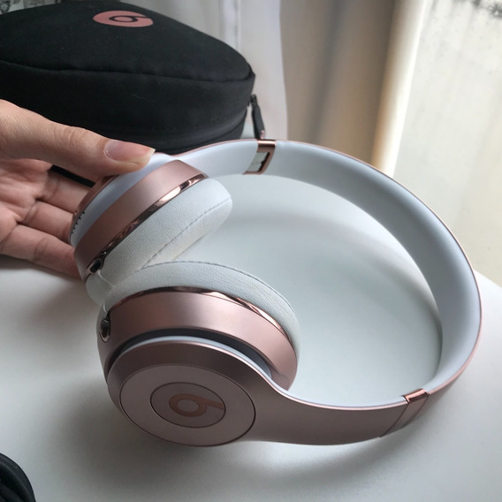 Headphone Beats Solo 3 Wireless Rose Gold