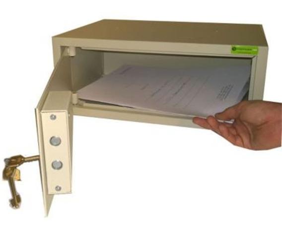 Caja Fuerte Importada Valores Seguridad Manual Llave Laptop