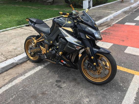 Kawasaki Z1000 Abs Linda, Monstra E Verdadeira