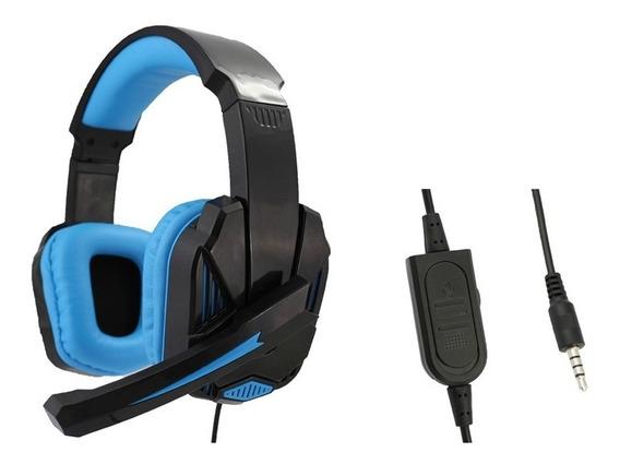 Fone Headset Pc 7.1 Surround C/ Microfone Ajustável Fio 1,5m