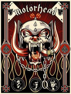 Poster Motorhead Tamanho A3