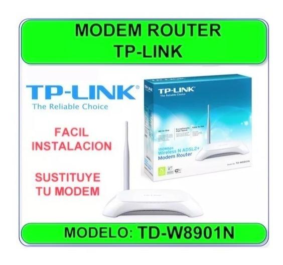 Modem + Router 2en1 Cantv Adsl2+ Aba Wifi Tplink Nuevo