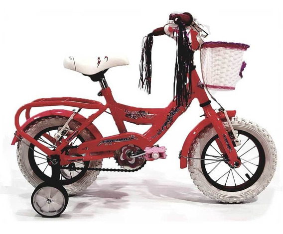 Bicicleta Infantil Rodado 12 Fire Bird Bin19039