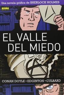 Comic Sherlock Holmes 4 - El Valle Del Miedo - Arthur Conan