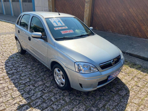 Gm/chevrolet Corsa Hatch Maxx 1.4 2011 80.000 Km Prata