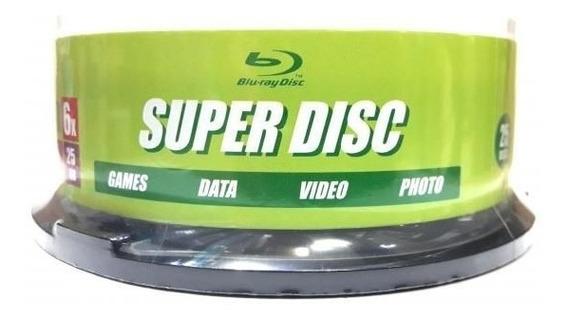 50 Mídias Blu Ray Super Disc Printable