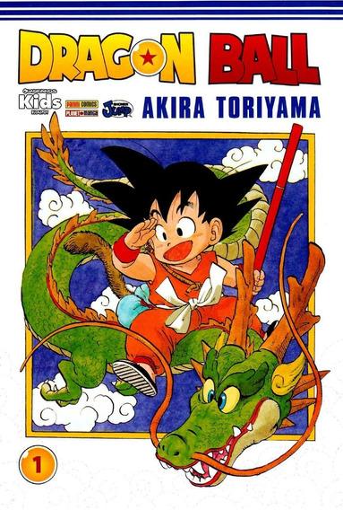 Mangá Dragon Ball Clássico Completo 42 Volumes + Brindes