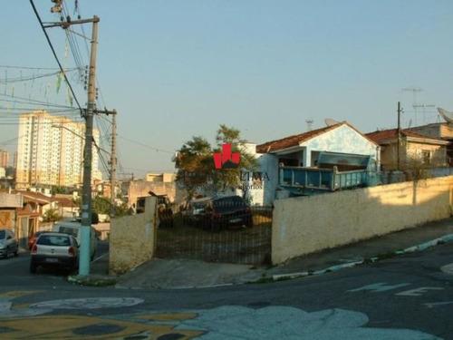 Imagem 1 de 5 de Terreno 313 M², Em Tatuapé. - Pe23727