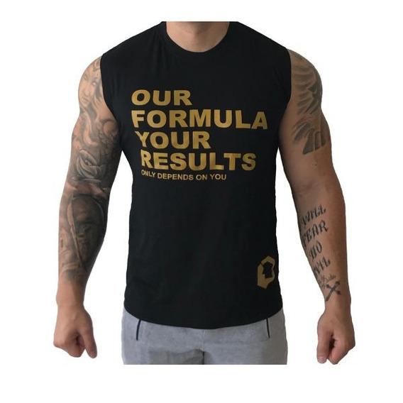 Camiseta Sem Manga Our Formula Your Results