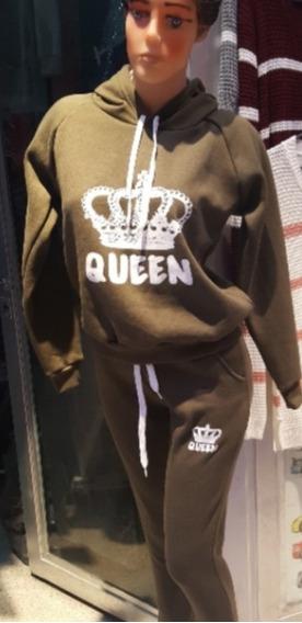 Conjunto Reina Buzo Y Pantalon De Friza Excelente Calidad