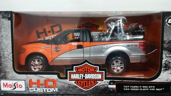 Colección Harley Davidson Ford F-150 S T X Escala 1/24