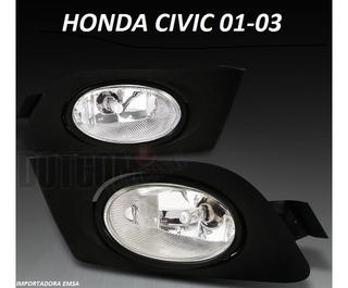 Halogenos Civic 01 - 03 , 4 Y 2 Puertas , Oferta