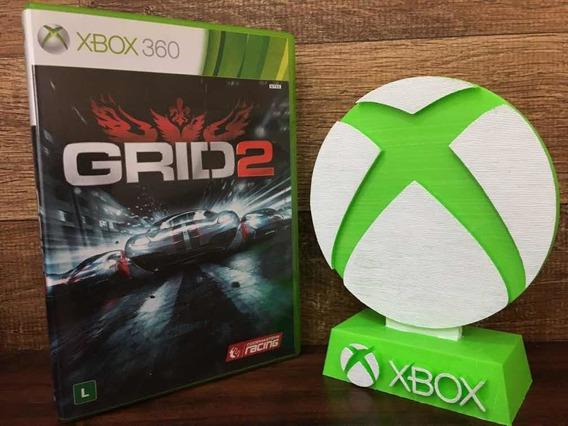 Grid 2 Xbox 360 Original Mídia Física Dublado Em Português