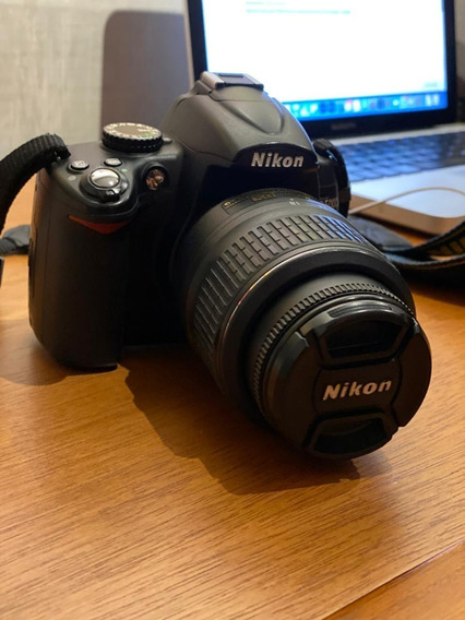 Câmera Nikon D5000 Mais Lente 18-55mm - Filma Em Hd