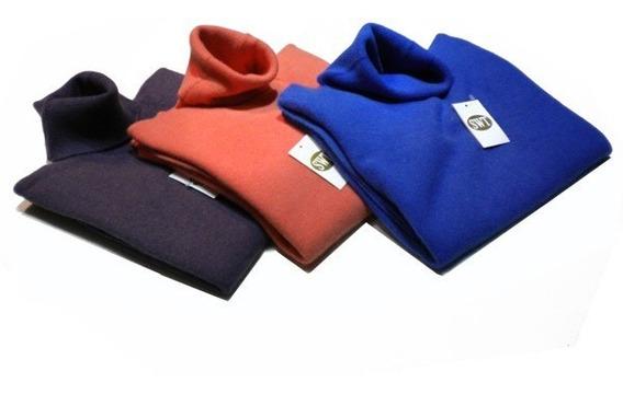 Polera Sweater Bremer Dama Clásico Pura Lana Merino Y Angora Marca Switch Sweaters