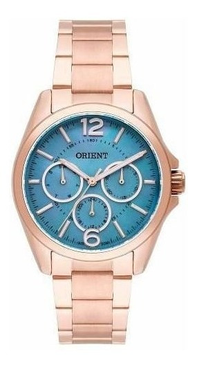Relógio Orient Feminino Frssm022 G2rx Rosê Original