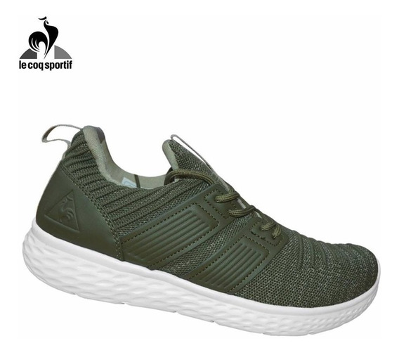 Zapatillas Deportivas Due Negras/verde/azules Le Coq Sportif