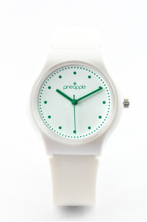 Reloj De Silicona Pineapple Honey Con Verde Ingles