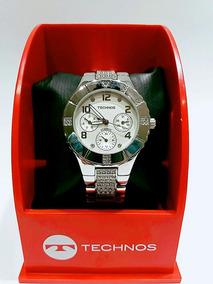 Relógio De Pulso Technos Analógico 6p29fh/1k Aço Inox